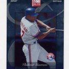 2002 Donruss Elite Baseball Samples #001 Vladimir Guerrero - Montreal Expos