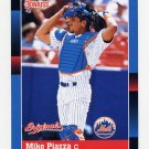 2002 Donruss Originals Baseball #392 Mike Piazza - New York Mets