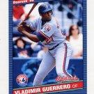 2002 Donruss Originals Baseball #315 Vladimir Guerrero - Montreal Expos