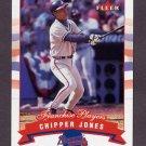 2002 Fleer Tiffany #003 Chipper Jones - Atlanta Braves /200