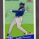 2002 Fleer Tradition Update Glossy #U145 Ruben Sierra - Seattle Mariners /200