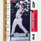 2002 Fleer Tradition Update Baseball #U388 Adam Dunn - Cincinnati Reds