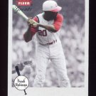 2002 Greats Of The Game Baseball #054 Frank Robinson - Cincinnati Reds