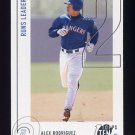 2002 Topps Ten Baseball #083 Alex Rodriguez - Texas Rangers
