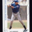 2002 Topps Ten Baseball #069 Alex Rodriguez - Texas Rangers
