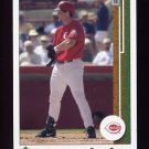 2002 UD Authentics Baseball #163 Sean Casey - Cincinnati Reds
