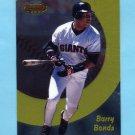1998 Bowman's Best Baseball #003 Barry Bonds - San Francisco Giants
