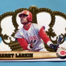 1998 Crown Royale Baseball #040 Barry Larkin - Cincinnati Reds