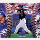 1998 Pacific Omega Baseball #100 Mike Piazza - Los Angeles Dodgers