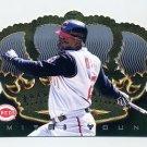 1999 Crown Royale Baseball #040 Dmitri Young - Cincinnati Reds