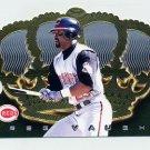 1999 Crown Royale Baseball #039 Greg Vaughn - Cincinnati Reds