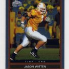 2003 Topps Draft Picks And Prospects Chrome Football #127 Jason Witten RC - Cowboys