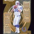 2000 Donruss Zoning Commission #ZC-07 Peyton Manning - Indianapolis Colts /1000