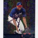 1997 Metal Universe Baseball #027 Jermaine Dye - Atlanta Braves