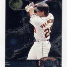 1997 Metal Universe Baseball #007 Rafael Palmeiro - Baltimore Orioles