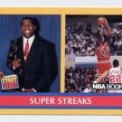 1990-91 Hoops Basketball #385 Magic Johnson / Michael Jordan