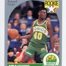 1990-91 Hoops Basketball #279 Shawn Kemp RC - Seattle Supersonics