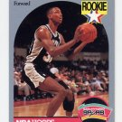 1990-91 Hoops Basketball #267 Sean Elliott RC - San Antonio Spurs