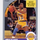 1990-91 Hoops Basketball #157 Magic Johnson - Los Angeles Lakers