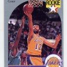 1990-91 Hoops Basketball #154 Vlade Divac RC - Los Angeles Lakers