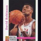 1992-93 Hoops Basketball #346 David Robinson - San Antonio Spurs