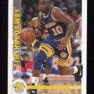 1992-93 Hoops Basketball #074 Tim Hardaway - Golden State Warriors