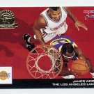 1993-94 Hoops Scoops Fifth Anniversary Gold #HS13 James Worthy - Los Angeles Lakers