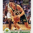 1993-94 Hoops Fifth Anniversary Gold #411 Detlef Schrempf - Seattle Supersonics