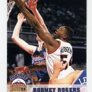 1993-94 Hoops Basketball #328 Rodney Rogers RC - Denver Nuggets