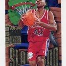 1995-96 Hoops Slamland #SL34 Jerry Stackhouse - Philadelphia 76ers