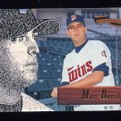1996 Pinnacle Aficionado Baseball #189 Marc Barcelo - Minnesota Twins