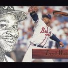 1996 Pinnacle Aficionado Baseball #176 Terrell Wade - Atlanta Braves