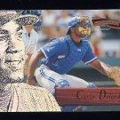1996 Pinnacle Aficionado Baseball #143 Carlos Delgado - Toronto Blue Jays