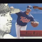 1996 Pinnacle Aficionado Baseball #138 Frank Rodriguez - Minnesota Twins