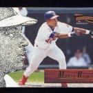 1996 Pinnacle Aficionado Baseball #109 Manny Ramirez - Cleveland Indians