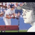 1996 Pinnacle Aficionado Baseball #107 Ryan Klesko - Atlanta Braves
