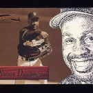 1996 Pinnacle Aficionado Baseball #085 Shawon Dunston - San Francisco Giants