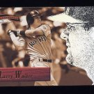 1996 Pinnacle Aficionado Baseball #068 Larry Walker - Colorado Rockies