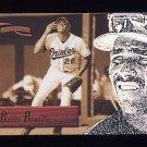 1996 Pinnacle Aficionado Baseball #041 Bobby Bonilla - Baltimore Orioles