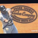 1996 Fleer Lumber Company #10 Frank Thomas - Chicago White Sox