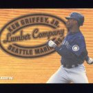 1996 Fleer Lumber Company #04 Ken Griffey Jr. - Seattle Mariners