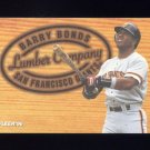 1996 Fleer Lumber Company #03 Barry Bonds - San Francisco Giants