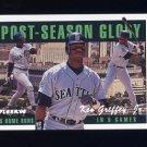 1996 Fleer Post-Season Glory #02 Ken Griffey Jr. - Seattle Mariners