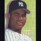 1996 Fleer Prospects #08 Ruben Rivera - New York Yankees