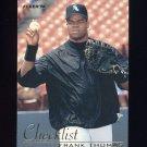 1996 Fleer Checklists #08 Frank Thomas - Chicago White Sox