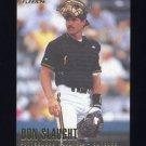 1996 Fleer Baseball #533 Don Slaught - Pittsburgh Pirates
