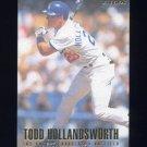 1996 Fleer Baseball #437 Todd Hollandsworth - Los Angeles Dodgers