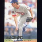 1996 Fleer Baseball #178 Dave Stevens - Minnesota Twins