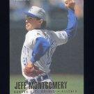 1996 Fleer Baseball #135 Jeff Montgomery - Kansas City Royals