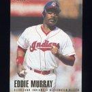 1996 Fleer Baseball #092 Eddie Murray - Cleveland Indians